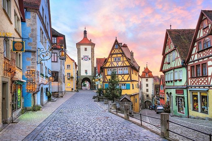 Rothenburg ob der Tauber bietet wirklich ein Bild aus vergangenen Zeiten. (#03)