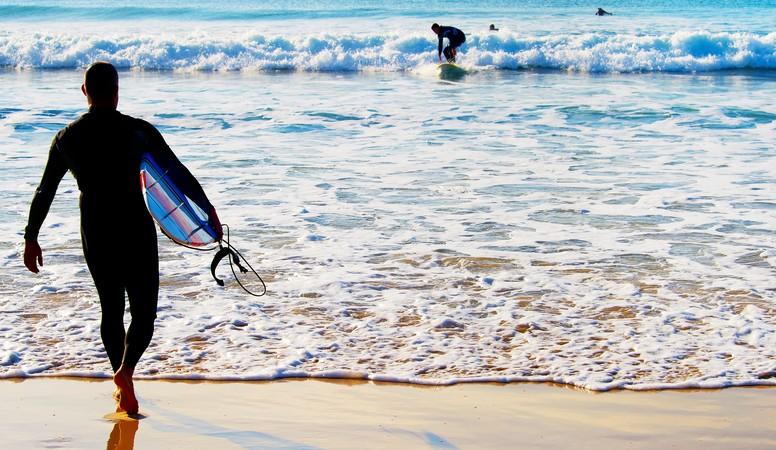 In Moliets-Plage machen die Wellen des Atlantiks unvergessliche Surferlebnisse möglich. (#2)