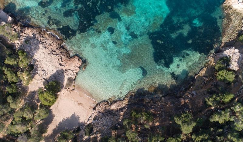 Gar nicht weit entfernt von Portals Vells liegt der berühmte Strand El Mago. (#03)
