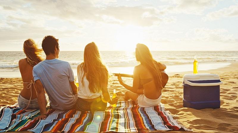 Nach der Vorlesung noch schnell an den Strand hüpfen. Das gibt es nur in wenigen Universitätsstädten der Welt. (#4)