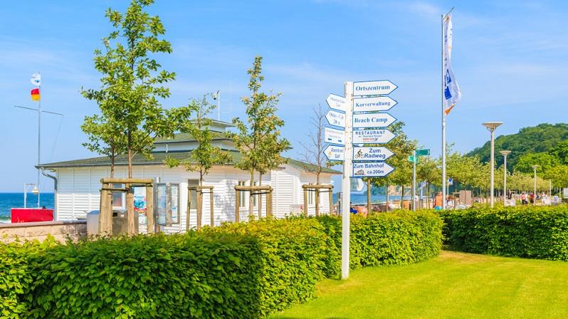 Es gibt auf dem Campingplatz an der Ostsee ein Restaurant sowie ein Animationsprogramm, das täglich für Abwechslung sorgt.