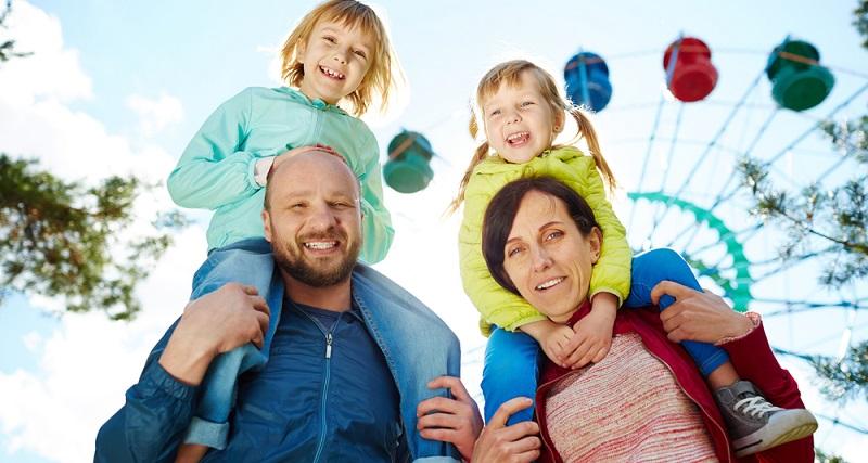 Auch ein Ausflug in so einen Park kann anstrengend sein und viele Herausforderungen mit sich bringen, vor allem wenn Kleinkinder mit dabei sind.