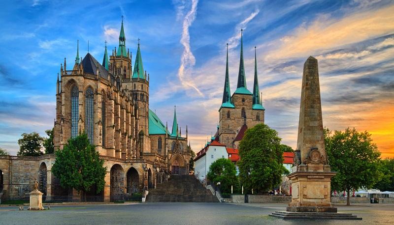 Erfurt zählte einst zu den bevorzugtesten Handelsstädten auf der so genannten West-Ost-Route.