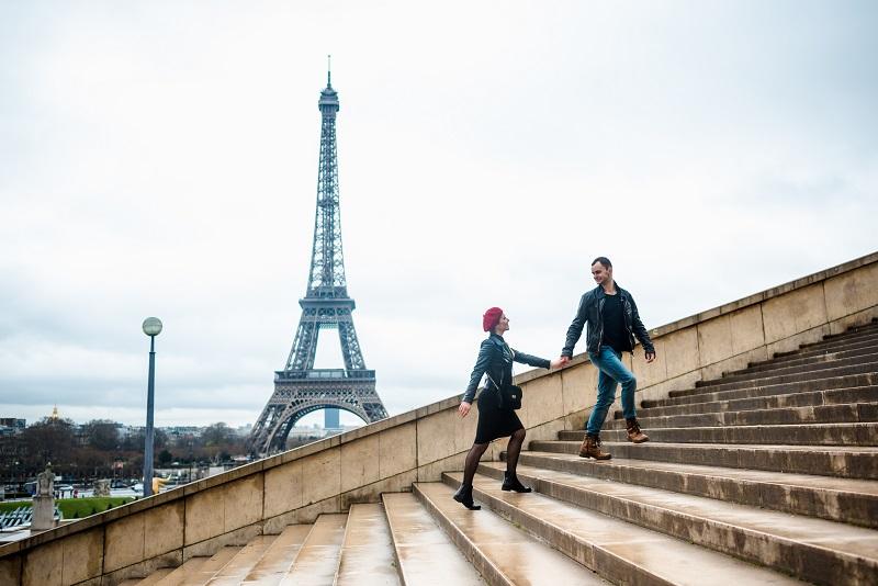 Wochenendausflug nach Paris: Paris zählt zu den attraktivsten und romantischsten Pärchenurlaubszielen überhaupt. (#01)